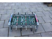 Table top soccer game, balls included