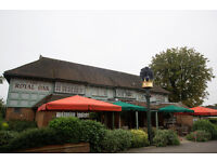 Full/ Part Time Chef - Up to £8.50 p/h depending on age & experience -Royal Oak - Chingford, London