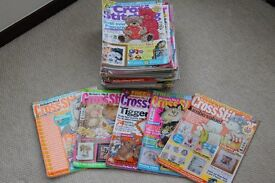 38 Cross Stitcher Magazines