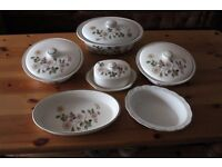 serving dishes / dinnerware AUTUMN LEAVES