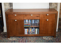 Matching solid wood sideboard and coffee table, £250 ono