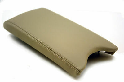 Fits 08-14 Dodge Avenger Leather Center Armrest Cover Beige