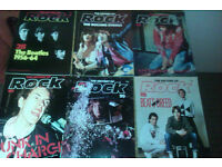 The History Of Rock Magazine - Orbis Publishing. 96 issues total - music memorabilia magazines