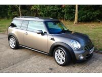 MINI CLUBMAN COOPER D High spec with Chili Pack plus upgrades, excellent condition.
