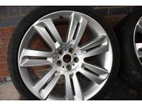 Jaguar XK/XKR Nevis Alloy Wheels and Dunlop Maxx Sport Tyres