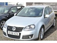 2008 VOLKSWAGEN GOLF GT TDI - 6 SPEED GT SPORT TDI WITH LEATHER INTERIOR STUNNING CAR. S line
