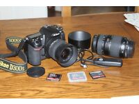 NIKON D300S Camera and Lenses In Great Condition. only 11413 Actuations on the body
