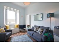 Bright and desirable, 1 bedroom, 3rd floor flat in Gorgie – available November