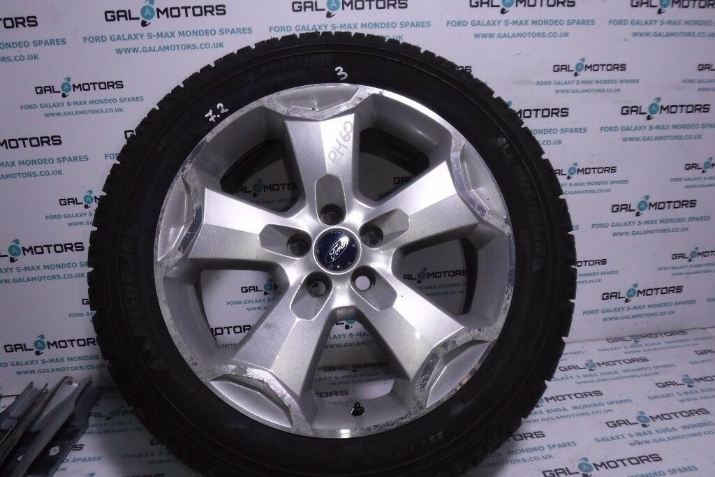 FORD KUGA R18 ALLOY WITH 7.2 MM MICHELLIN TYRE MK1 2008-2012 PH60-3