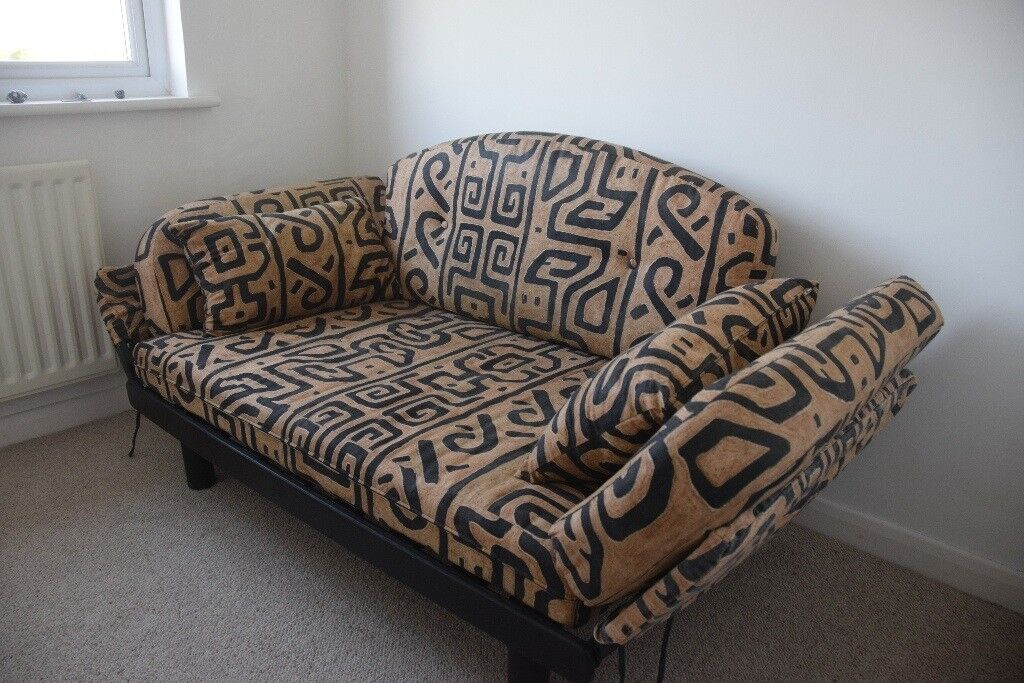 Single Sofa Bed With Coco Mattress Used As Occasional Guest Bed In