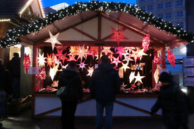 Salesperson for German Christmas Market in London