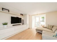 A modern one bedroom apartment with a private patio garden in Holland Park and Notting Hill.