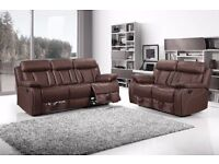 ** BRAND NEW RECLINER SOFA SET 3+2 ON SPECIAL OFFER IN DIFFERENT COLOURS **