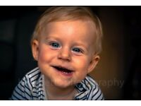 Affordable family, baby photography in your own home or at home studio in Bow,£75 inc digital images