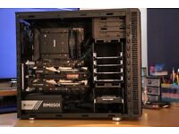 Gaming PC, i5-6600k,2xGTX970,16GB RAM, 120GB SSD + 1TB HDD, RM850i GOLD PSU
