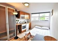 Studio flat in West Cromwell Road, Earls Court. London SW5