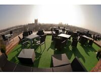 Barman and Waiter/Waitress for The Varsity Roof Terrace