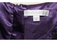 John Rocha Purple dress age 8