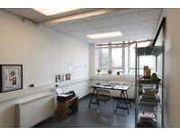 Bright studio space/creative office/workspace in Hackney, East London