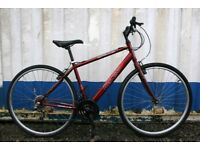 Apollo CX.10 Hybrid Bike 18 Inch Fully Serviced Free Delivery