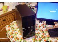 HP Pavilion 500 A8-5500 3.2GHz Quad Core 4GB RAM 500GB Dual Graphics Windows 10 HDMI Wi-Fi Gaming PC