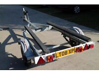 *SOLD* Bunked trailer for Rib Rigid inflatable, speed boat fresh water use only immaculate *SOLD*