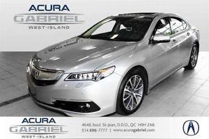 2015 Acura TLX SH-AWD ELITE 0.9% 60 MOIS+CUIR+TOIT+NAVI+CAMERA+B