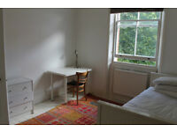 single room in leafy belsize park NW3