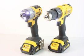 DeWalt DCD776 & DCF88f Cordless Drill Set