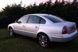 2004 Volkswagen Passat 1.9 TDI 130 Highline (leather interior)