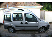 Fiat Doblo. Wheelchair car for parts or repair
