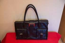 TM Lewin blackl office bag