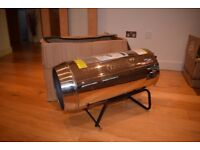 JET FORCE, STAINLESS STEEL PROPANE SPACE HEATER WITH WHEELS - 102,000 BTU (30KW)