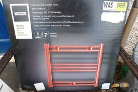 Small Red Towel Rail