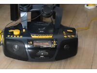 ROBERTS DAB RADIO/CD/SD/CASSETTERECORDER/PIONNER H/P CANSEEWORKING