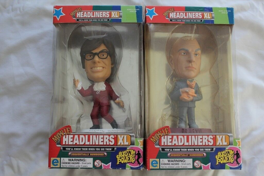 austin power dr evil headliners xl collectable figures in filton