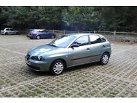 LEFT HAND DRIVE 2003 Seat Ibiza 1.9SD Diesel 5 Door, Ideal For Those European Trips, Long MOT