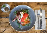 Head chef for busy Antipodean cafe