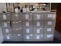 Metal Filing Cabinets For Sale (lockable) - SO23 7TA