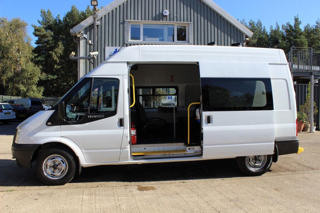 Ford Rv Van >> 2013 Ford Transit Day Van Camper Van Conversion Welfare Unit Campervan Mess Van Motocross Motorhome In Ringwood Hampshire Gumtree