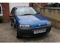 Fiat Punto 1242cc (2001) - Owned by two families since new.