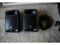 Yamaha Stagepas 300 Active Speakers