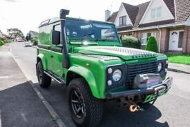 Land Rover Defender 90 X Tech TD5 - Galvanised Richards Chassis - New Clutch & Flywheel