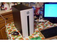 HP Pavilion PC i5-6400 Quad Core 8GB RAM 2TB Windows 10 Radeon 2GB Graphics Gaming