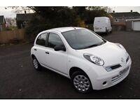 Bargain price :2009(06.10.2009) Nissan micra 1.2,5doors, no accident,genuine low miles+,9 month MOT
