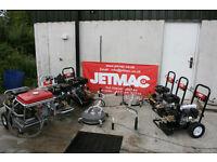 Petrol pressure washers Loncin engine not Honda
