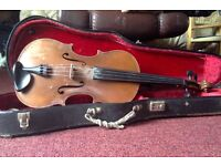Violin,viola,guitar. Good quality ex-music school instruments for sale.