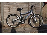 Appolo Arianna Mountain Bike (full suspension with disk brakes)