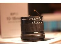 Canon 10-18mm Lens