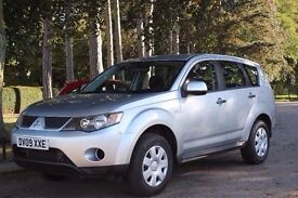 Mitsubishi Outlander 2.0 DI-D Equippe 5dr 2 OWNERS, FSH 2009
